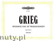 Okładka: Grieg Edward, Wedding Day at Troldhaugen for Piano Duet, Op. 65 No. 6