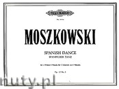 Ok�adka: Moszkowski Maurycy, Spanish Dance for 2 Pianos 8 Hands, Op. 12 No. 1