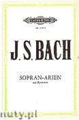 Ok�adka: Bach Johann Sebastian, 15 Arias from Cantatas for Soprano and Piano, Vol. 1