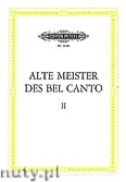 Ok�adka: R�ni, Old Masters of Bel Canto, Collection of Arias from Operas and Cantatas, from Canzonas, Canzonettas, Opera and Chamber Duets, Vol. 2