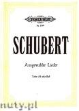 Okładka: Schubert Franz, Ausgewählte Lieder