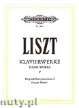 Okładka: Liszt Franz, Piano Works, Original Works, Part 1, Vol. 5