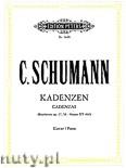 Ok�adka: Schumann Clara, 5 Kadenzen f�r Klavier zu Beethoven und Mozart Konzerten