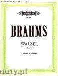 Okładka: Brahms Johannes, 5 Waltzes from Op. 39