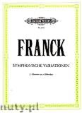 Okładka: Franck César, Symphonic Variations (2Pf/4h)