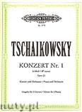 Okładka: Czajkowski Piotr, Concerto No. 1 in B flat minor Op. 23 for 2 Pianos