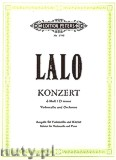Okładka: Lalo Édouard Victor Antoine, Concerto in D minor for Violoncello and Orchestra