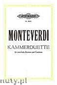 Okładka: Monteverdi Claudio, 6 Duets for 2 High Voices