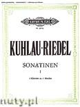 Okładka: Kuhlau Friedrich Daniel Rudolf, Riedel August, Sonatinen für 2 Klaviere - 4 Händen, Band 1