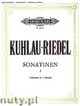 Ok�adka: Kuhlau Friedrich Daniel Rudolf, Riedel August, Sonatinen f�r 2 Klaviere - 4 H�nden, Band 1