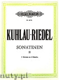 Okładka: Kuhlau Friedrich Daniel Rudolf, Riedel August, Sonatinas for 2 Pianos, Op. 55, Vol. 2