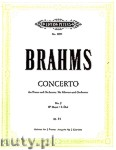 Ok�adka: Brahms Johannes, Concerto No. 2 in B flat major for Piano and Orchestra, Op. 83