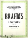 Okładka: Brahms Johannes, Sonatas Op.120 (Vla/Cl—Pf)
