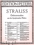 Okładka: Strauss Ryszard, Orchestral Studies for Trombone and Tuba