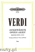 Okładka: Verdi Giuseppe, Selected Opera Arias for Voice and Piano