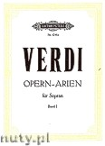 Okładka: Verdi Giuseppe, Soprano Arias for Voice and Piano, Vol. 1