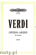 Ok�adka: Verdi Giuseppe, Soprano Arias for Voice and Piano, Vol. 2