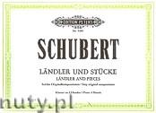 Okładka: Schubert Franz, Ländler und Stücke