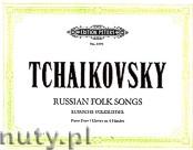 Okładka: Czajkowski Piotr, Russian Folk Songs