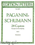 Okładka: Paganini Niccolo, Schumann Robert, Piano Accompaniment for 24 Caprices No. 13 - 24, Vol. 2