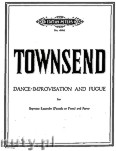 Ok�adka: Townsend Douglas, Dance Improvisation and Fugue for Soprano Recorder (Piccolo or Flute) and Piano