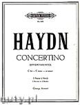 Ok�adka: Haydn Franz Joseph, Concertino (Divertimento) C Hob. XIV/3 f�r 2 Klavieren