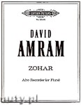 Okładka: Amram David, Zohar
