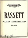 Okładka: Bassett Leslie, Sounds Remembered