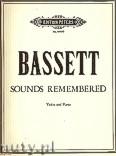 Ok�adka: Bassett Leslie, Sounds Remembered