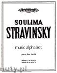 Okładka: Strawiński Igor, Music Alphabet, Vol. 1
