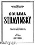 Okładka: Stravinsky Soulima, Music Alphabet, Vol. 2 (M-Z) for Piano - Four Hands