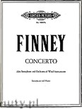 Okładka: Finney Ross Lee, Concerto for Alto Saxophone and Piano