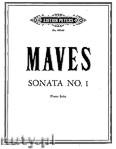 Okładka: Maves David, Piano Sonata No. 1
