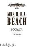 Ok�adka: Beach H.H.A., Viola Sonata in A minor