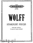 Ok�adka: Wolff Christian, Stardust Pieces for Violoncello and Piano