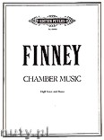 Ok�adka: Finney Ross Lee, Chamber Music for High Voice and Piano