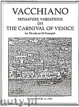 Okładka: Vacchiano William, Miniature Variations on The Carnival of Venice