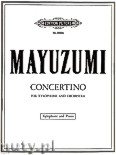 Ok�adka: Mayuzumi Toshiro, Concertino for Xylophone and Piano