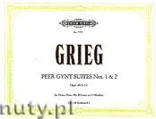 Okładka: Grieg Edward, Peer Gynt Suites Nos.1 and 2, Opp. 46 & 55