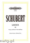 Ok�adka: Schubert Franz, Songs for Voice and Piano, Vol. 3