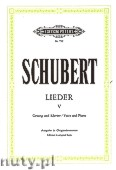 Ok�adka: Schubert Franz, Songs for Voice and Piano, Vol. 5