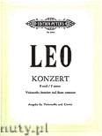 Ok�adka: Leo Leonardo, Concerto in F minor (Vc�Pf)