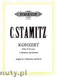 Okładka: Stamitz Carl, Concerto in B flat for 2 Clarinets and Orchestra