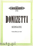 Okładka: Donizetti Gaetano, Sonata for Violine (Flute) and Harp