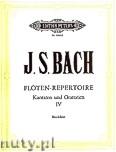 Okładka: Bach Johann Sebastian, Flöten Repertoire Vol. 4