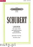 Okładka: Schubert Franz, Songs for Voice and Piano, Vol. 1 (New Edition) (High Voice)