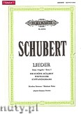 Ok�adka: Schubert Franz, Songs for Voice and Piano, Vol. 1 (New Edition) (Medium Voice)