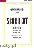 Ok�adka: Schubert Franz, Songs for Voice and Piano, Op. 1 - Op. 36, Vol.  2 (New edition)