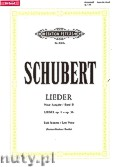 Okładka: Schubert Franz, Songs for Voice and Piano, Op. 1 - Op. 36, Vol. 2 (New edition)