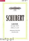 Ok�adka: Schubert Franz, Songs for Voice and Piano, Op. 37 - 80, Vol. 3 (New Edition) (Medium Voice)